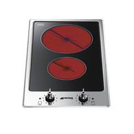 SMEG 30CM CERAMIC ELECTRIC COOKTOP - PGA32C