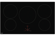 ILVE 88CM INDUCTION COOKTOP - 5 ZONES - ILD88B