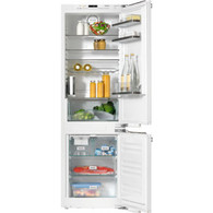 MIELE 283L INTEGRATED FRIDGE/FREEZER WITH ICE MAKER - KFNS37452iDE