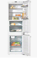 MIELE 279L INTEGRATED FRIDGE/FREEZER WITH ICE MAKER - KFNS37692iDE