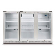 HUSKY 307L ALFRESCO 3 DOOR BAR FRIDGE - HUS-C3-840-HY