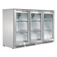 HUSKY 307L ALFRESCO 3 DOOR FRIDGE - HIGHER OUTDOOR SEC - ALF-C3-840