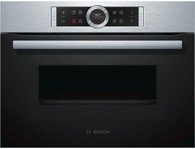 BOSCH 45CM COMBINATION MICROWAVE OVEN - CMG633BS1B