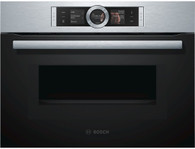 BOSCH 45CM COMBINATION MICROWAVE OVEN - SERIES 8 - CMG656RS1A