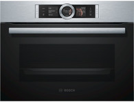 BOSCH 45CM COMBINATION STEAM OVEN - CSG656RS1A EX DISPLAY*