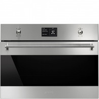 SMEG 45CM CLASSIC COMPACT SPEED OVEN - SFA4395MCX - CLEARANCE*