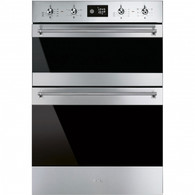 SMEG 60CM THERMOSEAL DOUBLE OVEN - DOSFA6390X