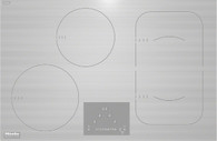 MIELE 75CM 4 ZONE INDUCTION COOKTOP BRILLIANT WHITE - KM6349-1