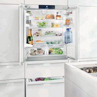 LIEBHERR 585L INTEGRATED FRENCH DOOR FRIDGE/FREEZER WITH BIOFRESH - 91CM WIDE - ECBN6256