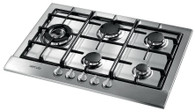 ARTUSI 70CM GAS COOKTOP - 5 BURNER - AGH70XFFD