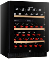 VINTEC 40 BOTTLE DUAL ZONE WINE CELLAR - V40SG2EBK