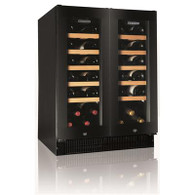 VINTEC 42 BOTTLE 2 DOOR WINE CELLAR - V40DG2EBK