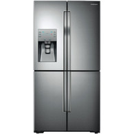 SAMSUNG 719L FRENCH 4 DOOR FRIDGE WITH ICE & WATER - SRF719DLS