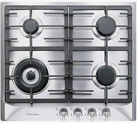 MIELE 60CM GAS COOKTOP - 4 BURNER - KM362-1G