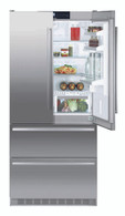 LIEBHERR 585L FREESTANDING FRENCH DOOR FRIDGE/FREEZER - CBNES6256