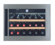 LIEBHERR 18 BOTTLE BUILT-IN SINGLE ZONE WINE CELLAR - WKEES553