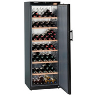 LIEBHERR 195 BOTTLE SINGLE ZONE BARRIQUE WINE CELLAR - SOLID DOOR - WKB4611