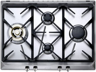 SMEG 70CM GAS COOKTOP - 4 BURNER - CIR574XS3