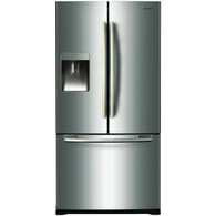 SAMSUNG 583L FRENCH DOOR WITH ICE MAKER & WATER - SRF583DLS
