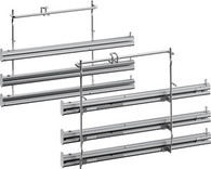 NEFF 3 LEVEL TELESCOPIC RAILS - PYRO PROOF - Z12TF36X0
