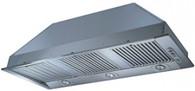 SMEG 96.5CM STAINLESS STEEL CONCEALED RANGEHOOD - 1600m3 - SHC965X