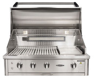 "CAPITAL 40"" BUILT IN HOODED BBQ WITH OPEN GRILL - ACG40RBI.1 N/L"