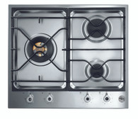 BERTAZZONI 60CM GAS COOKTOP - 18MJ WOK - PM6030X