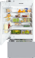 MIELE 642L MASTERCOOL INTEGRATED FRIDGE AND FREEZER - KF1911Vi