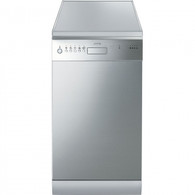 SMEG 45CM S/STEEL FREESTANDING DISHWASHER - DWA4510X