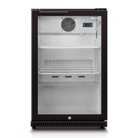HUSKY 118L ALFRESCO BLACK BAR FRIDGE - HUS-C1-840-BLK