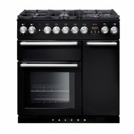 FALCON 90CM NEXUS DUAL FUEL FREESTANDING OVEN - SPLIT OVENS - NEX90DF + Colour