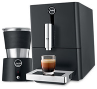JURA ENA MICRO1 BLACK  COFFEE MACHINE WITH BONUS MILK FROTHER - ENA MICRO1
