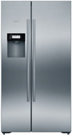 BOSCH 633L MARKFREE S/STEEL SIDE BY SIDE FRIDGE - ICE & WATER - KAD92AI20A