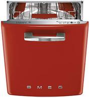 SMEG 60CM RETRO RED BUILT IN DISHWASHER -  DWIFABR-1