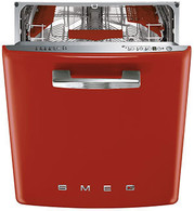 SMEG 60CM RETRO RED BUILT IN DISHWASHER -  DWIFABR-1