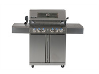 SMART 118CM FREESTANDING BBQ - 4 BURNER WITH WINDOW - 411W-W