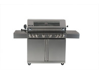SMART 160CM FREESTANDING BBQ - 6 BURNER AND WINDOW - 611W-W