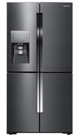 SAMSUNG 719L FRENCH 4 DOOR FRIDGE - BLACK STEEL - SRF717CDBLS