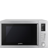 SMEG 34L MICROWAVE OVEN WITH GRILL - 1000W - SA34MX