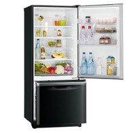 MITSUBISHI 325L BOTTOM MOUNT FRIDGE - MR-BF325EK + Colour