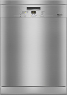 MIELE CLEAN STEEL FREESTANDING DISHWASHER - G4930SC CLST