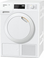 MIELE 8KG HEAT PUMP DRYER - HONEYCOMB DRUM - TCE630WP