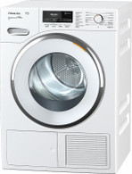 MIELE 9KG HEAT PUMP DRYER - STEAM FINISH - TMR840WP SFinish&Eco XL