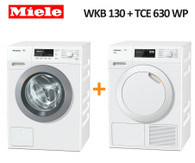 MIELE WKB130 8KG WASHER + TCE630 WP 9KG HEAT PUMP DRYER