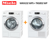 MIELE WKH132 WPS 9KG WASHER + TKG852 WP 9KG HEAT PUMP DRYER