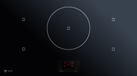 VZUG 90CM MAXIFLEX INDUCTION COOKTOP - OPTIGLASS & GRAPHIC DISPLAY - GK57TIMSZO