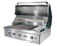 "CAPITAL 40"" 101.6CM BUILT IN BBQ WITH SOLID PLATE - AQ40RBI EX DISPLAY*"
