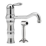 NICOLAZZI TRADITIONAL SINGLE LEVER TAP WITH HAND SPRAY - 3479WS