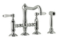 NICOLAZZI TRADITIONAL BRIDGE TAP WITH HAND SPRAY - 1458WS