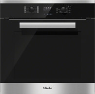 MIELE 60CM CLEANSTEEL OVEN - 76L - H2661B